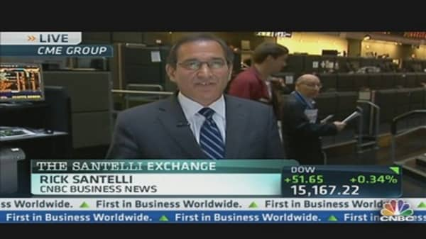 Santelli Fascinated By Survey Data
