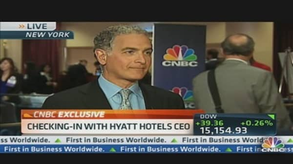 Checking-In With Hyatt Hotels CEO
