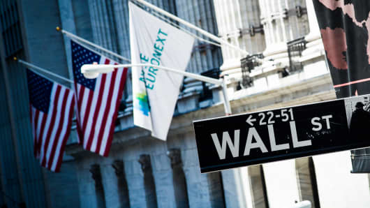 Wall Street NYSE Euronext