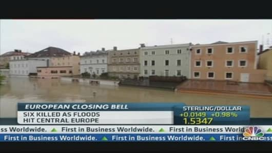 Watch: Record Floods in Europe