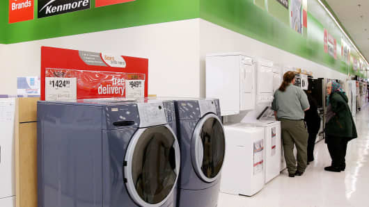 Sears Kenmore durable goods