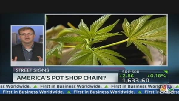 All-American Pot Shop Chain?