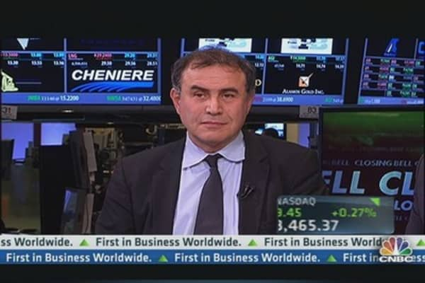 Dr. 'Realist' Roubini on Fed Tapering, Markets