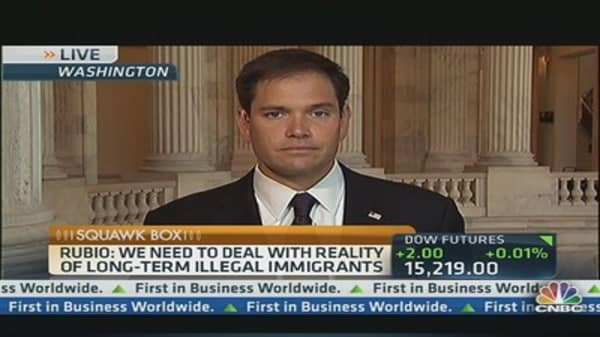Sen. Rubio on Immigration Reform Fallout