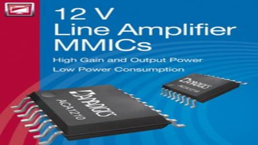 ANADIGICS 12 V Line Amplifier MMICs