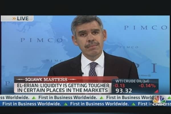 Pimco's El-Erian: 'Walk Away From Risk'