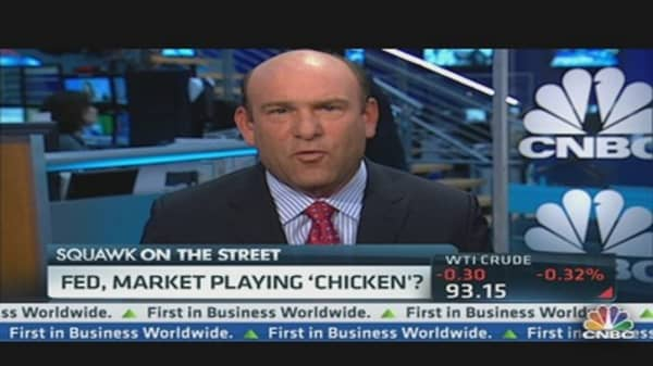 Are the Fed & Market Playing 'Chicken?'