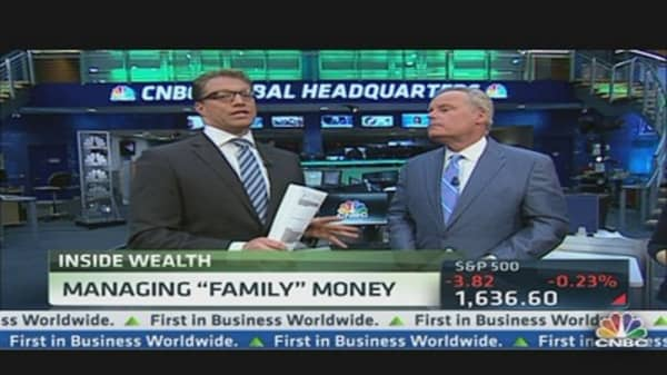 Managing 'Family' Money