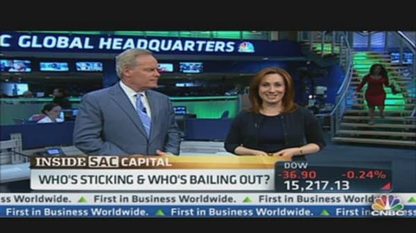 SAC Capital: Who's Sticking & Who's Bailing