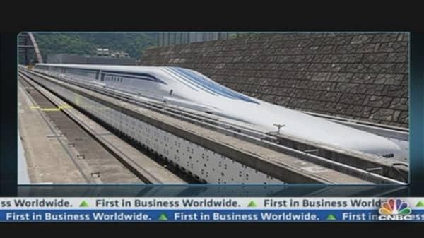 Japan Tests 'Floating' Train