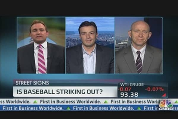 Is Baseball Striking Out?