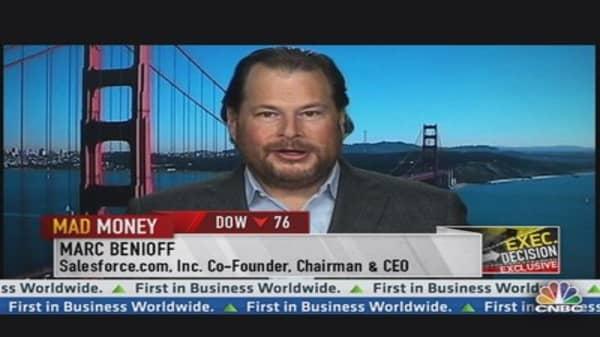 CRM CEO on ET Acquisition