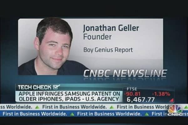 ITC Backs Samsung; Bans Older Apple Devices