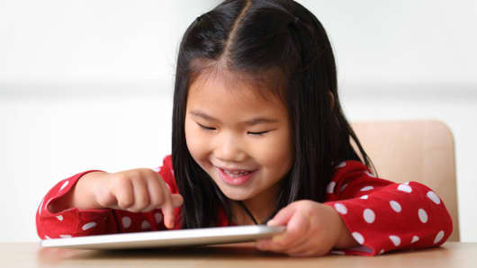 child electronic tablet technology