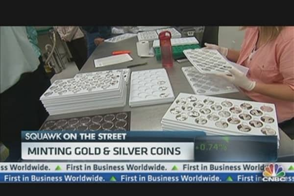 Business of Minting Coins Thrives