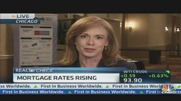 Mortgage Rates Rise Above 4%