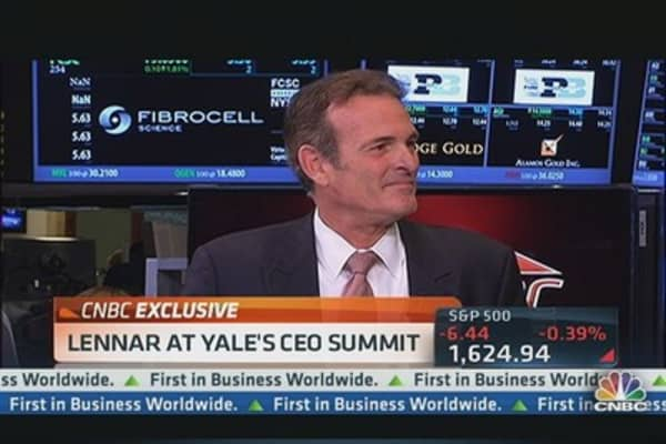 Lennar CEO on Housing Recovery