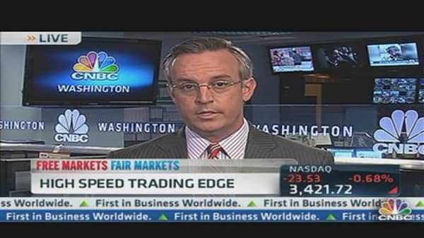 High Speed Trading Edge Could Mean Millions