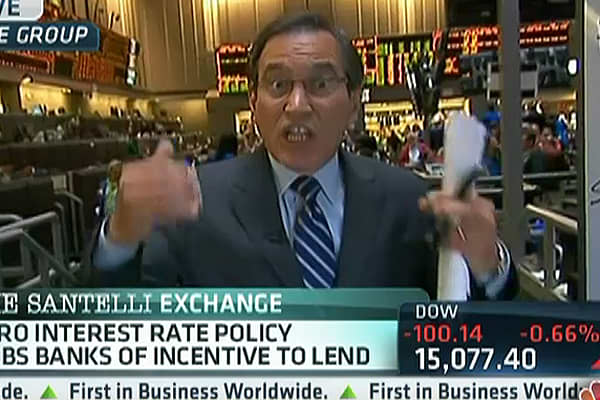 Santelli: The Trouble With Artificially Low Rates