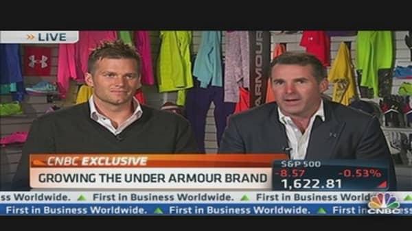CEO Grows Under Armour Brand With Tom Brady