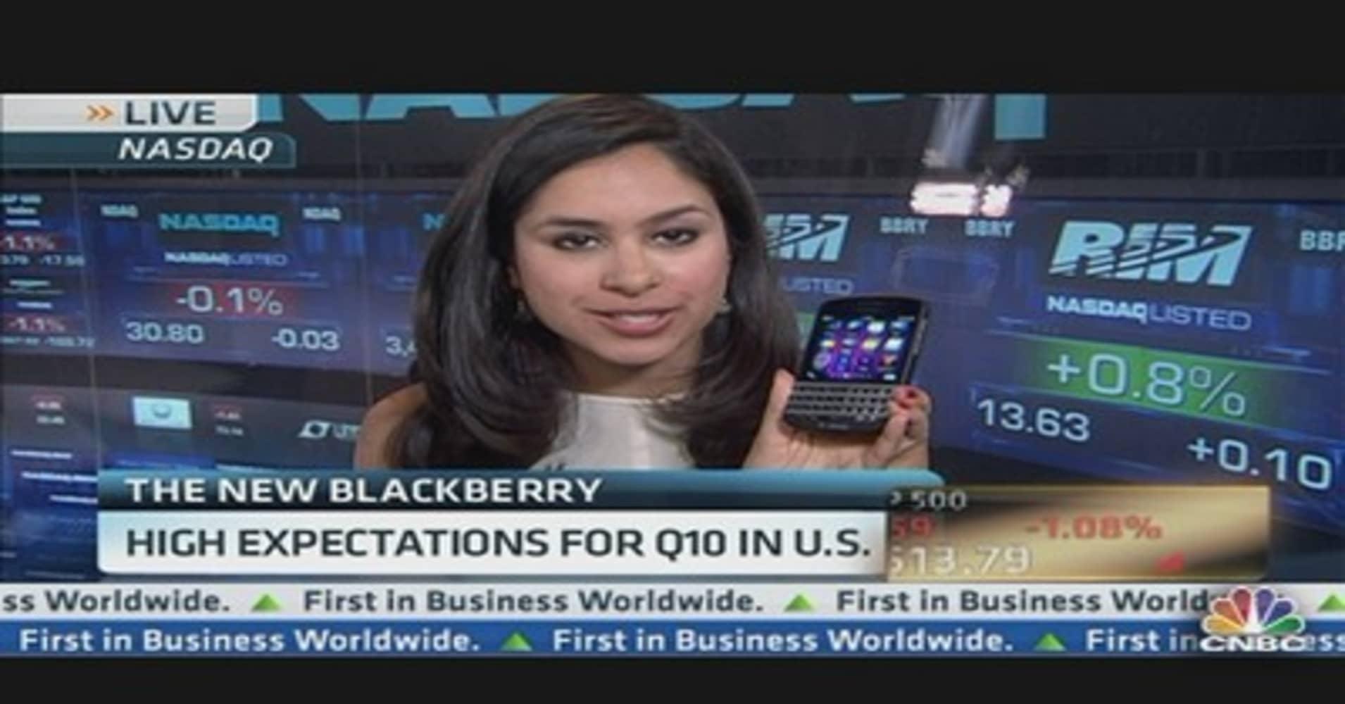 BlackBerry to Launch Q10 Tomorrow
