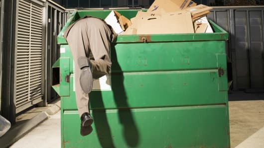 Dumpster Diver Trash Garbage
