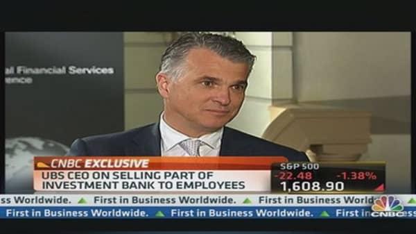 Litigation the Biggest Challenge: UBS CEO
