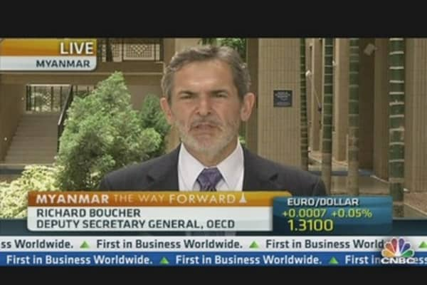 OECD's Boucher: Optimistic on Global Growth