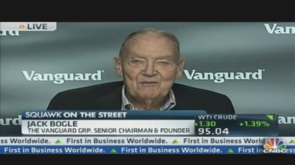Vanguard's Bogle: Yesterday Sound & Fury Signifying Nothing