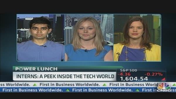 Interns: A Peek Inside the Tech World