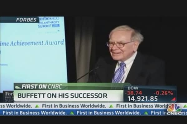 Who Will Succeed Buffett?