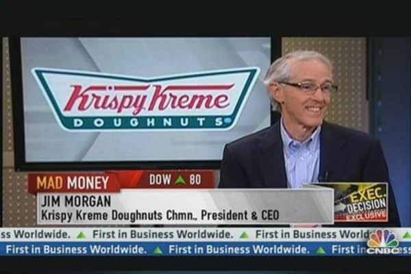 Krispy Kreme CEO: Looking Forward to Growing Domestically