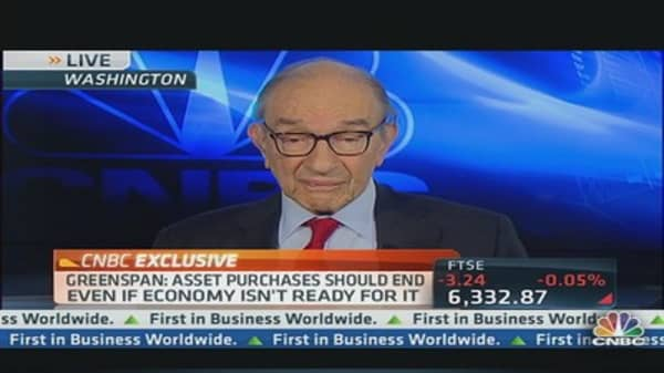 Greenspan on Market 'Uncertainty' & 'Excessive' Assets on Fed's Balance Sheet
