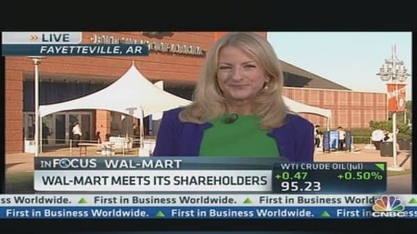 Wal-Mart Hosts Annual Shareholders' Meeting