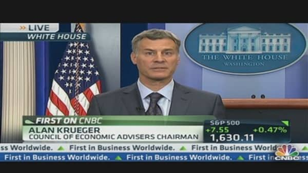 White House Reacts to Jobs Number