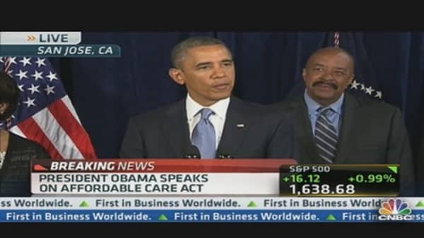 Pres. Obama Speaks on Affordable Care Act