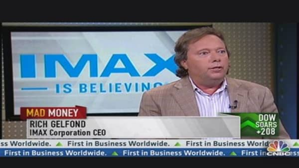 IMAX CEO: New Laser-Based Technology In the Works