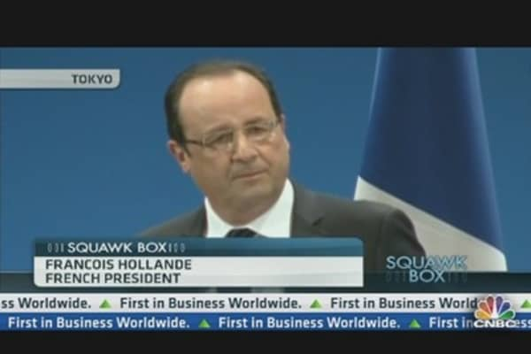 Francois Hollande: The Crisis Is Over