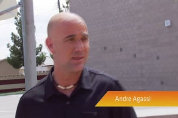 Andre Agassi: Las Vegas Is Picking Up