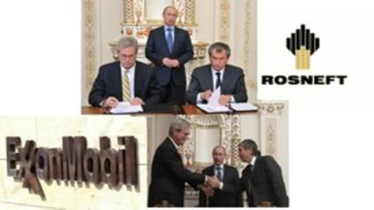 Exxon and ROSNEFT of Russia