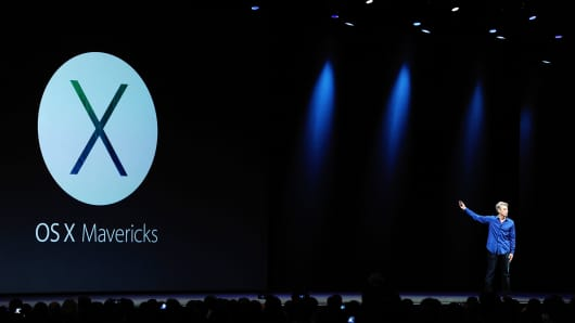 Apple Inc. introduced a new version of its Mac operating system called Mavericks, aimed at delivering tighter integration with iPhones and iPads.