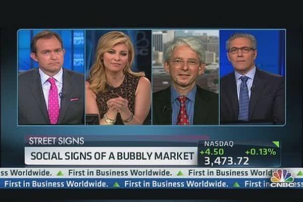 Bubble Market Warning Flares
