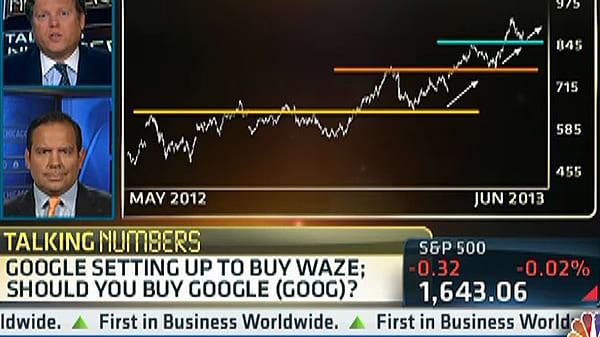 Talking Numbers: Google Buying Waze