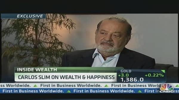 Carlos Slim on Wealth & Happiness