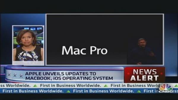 Apple Unveils Updates to MacBook & iOS