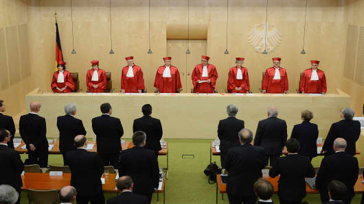 The Judges of Germany's Constitutional Court