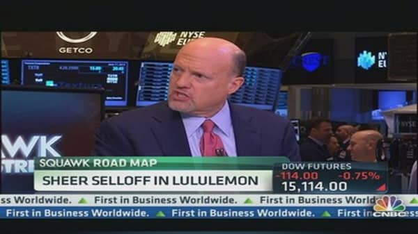 Cramer: Lululemon's CEO Ouster Is a Mistake
