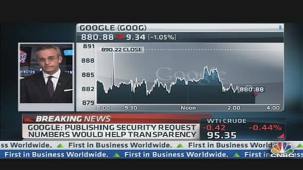 Google Pushing Back on US Government