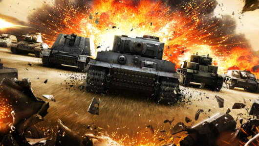 """World of Tanks"" game"