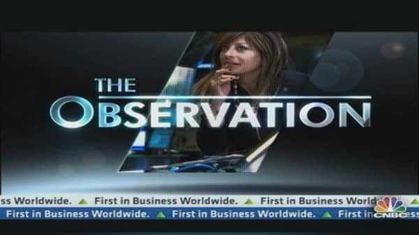 Maria's Observation: Rising Interest Rates
